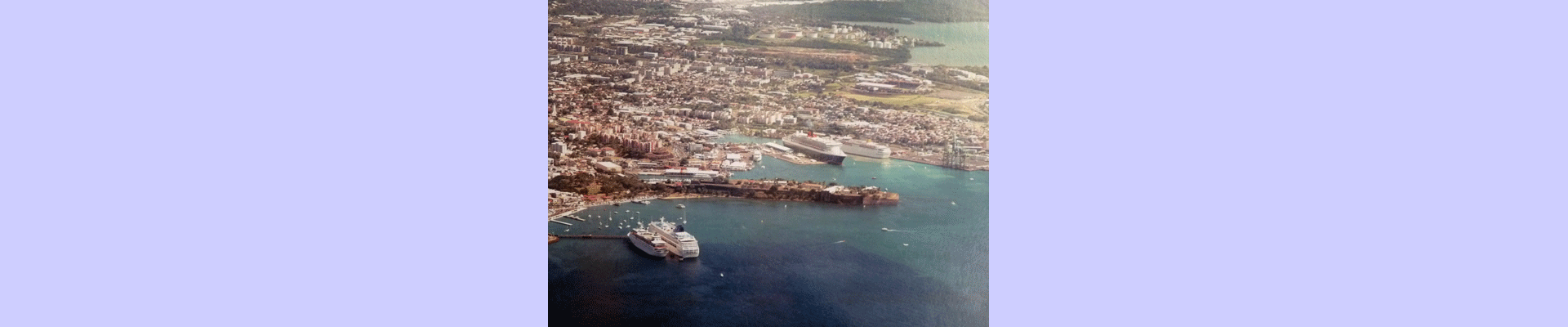 Port of Fort de France - Martinique - French west indies